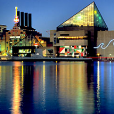 Picture of Baltimore waterfront